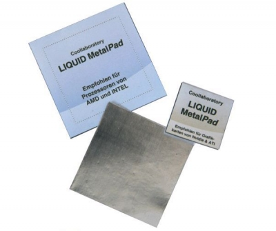 Coollaboratory Liquid MetalPad [Metall-Wärmeleitpad] [1xCPU]