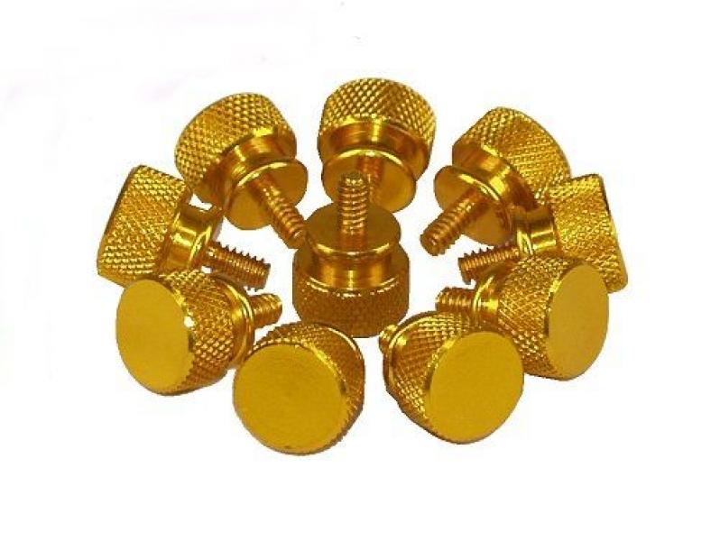 Thumbscrews Gehäuse 1 Stk gold