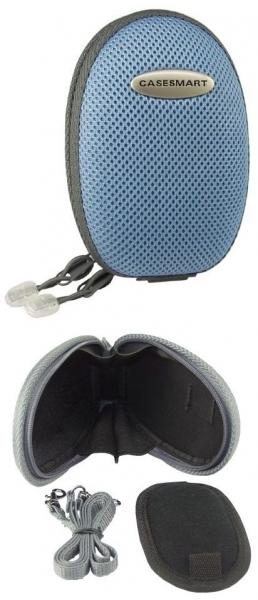 CASESMART Secure-Egg oval blau