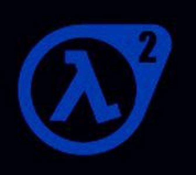 Window-Kit Aufkleber Half-Life 2 [18x18cm] UV-Blue