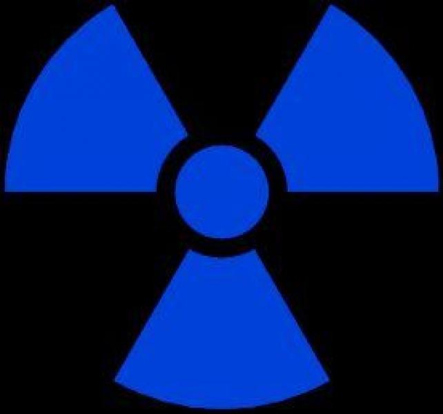 Window-Kit Aufkleber Radiation [18x18cm] UV-Blue