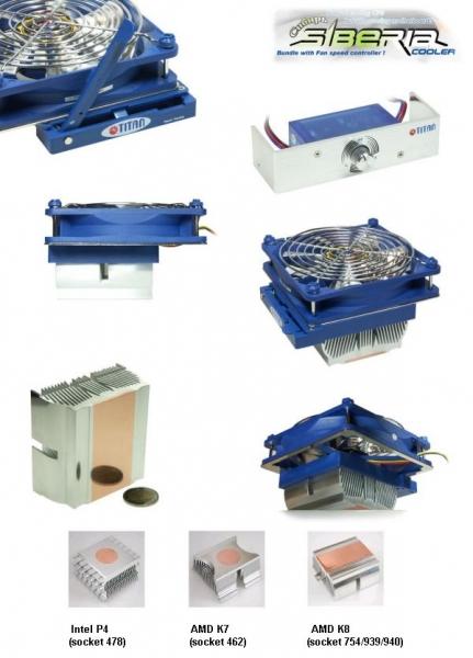 Titan SIBERIA CPU-Kühler TTC-NZ02TB/SC(RB) Socket ...