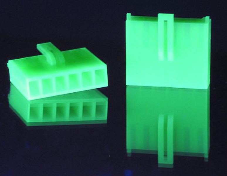 Crimp-Anschluss AUX 6-Pin Kupplung UV-grün
