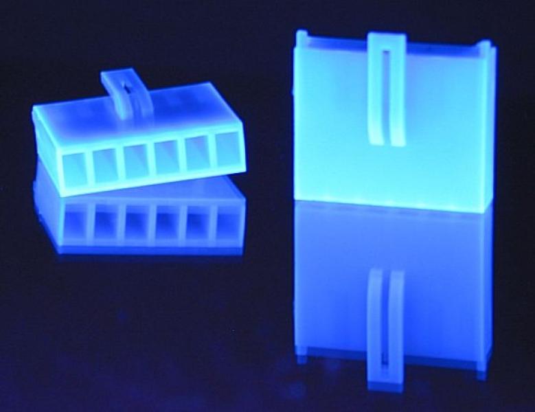 Crimp-Anschluss AUX 6-Pin Kupplung UV-blau