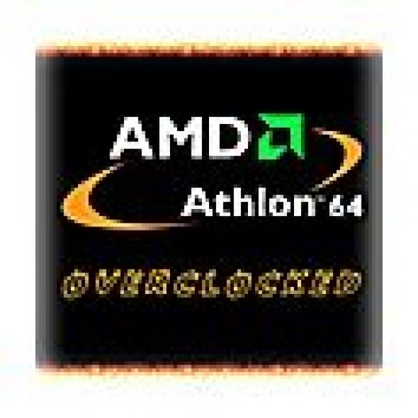 Case-Badge AMD Ahtlon 64 Overclocked