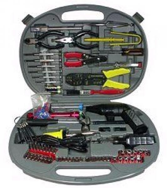 P C-Service- Werkzeugkoffer Profi 145-teilig