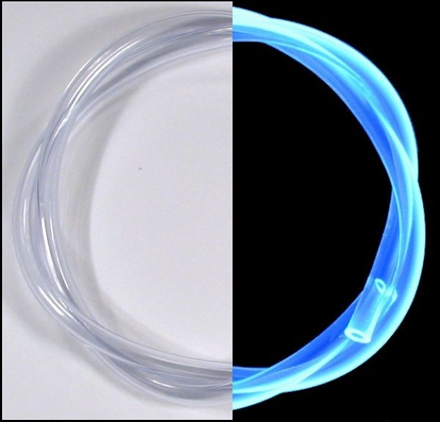 PVC-Schlauch 7,0x1,5x10,0 mm [pro 50cm] transparent UV-aqua