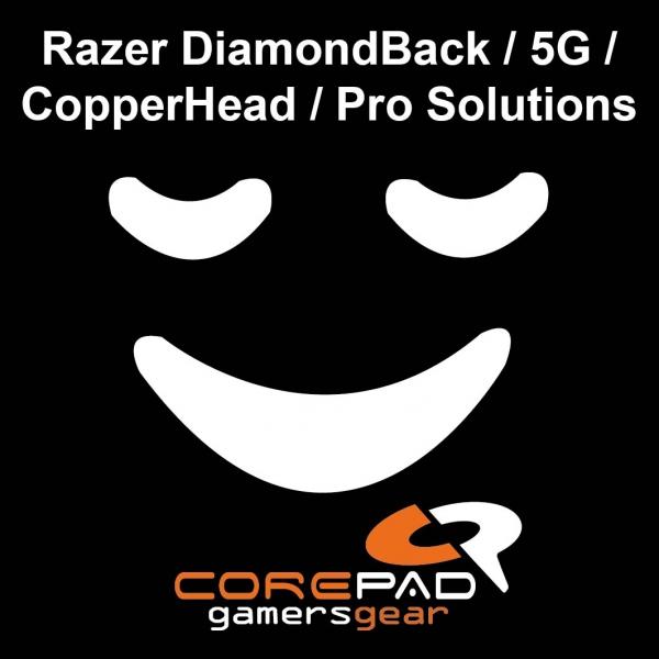 Corepad Skatez PRO   5 Mausfüße Razer DiamondBack / ...
