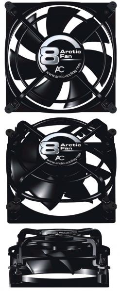 Arctic Cooling Arctic Fan 8 [80x80x38,5mm] Retail