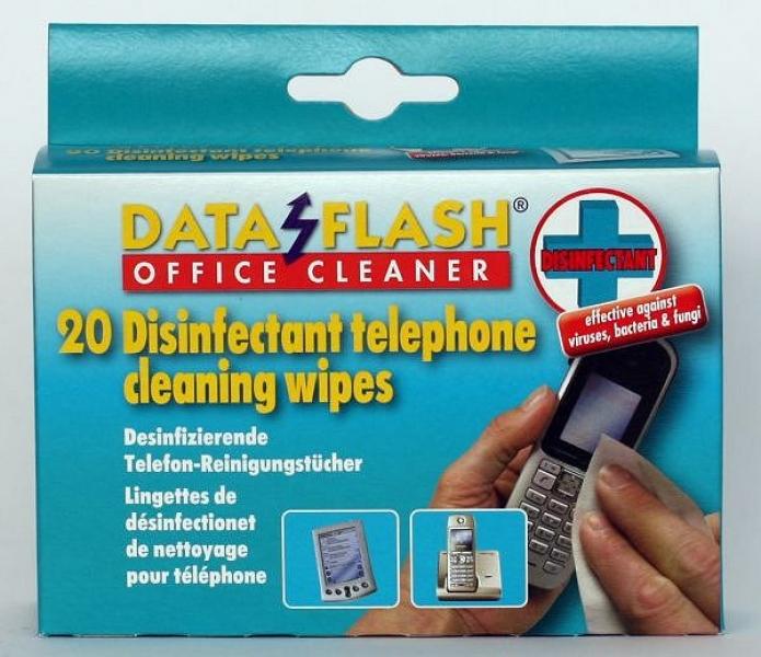 Telefon-Reinigungstücher desinfizierend [feucht] ...