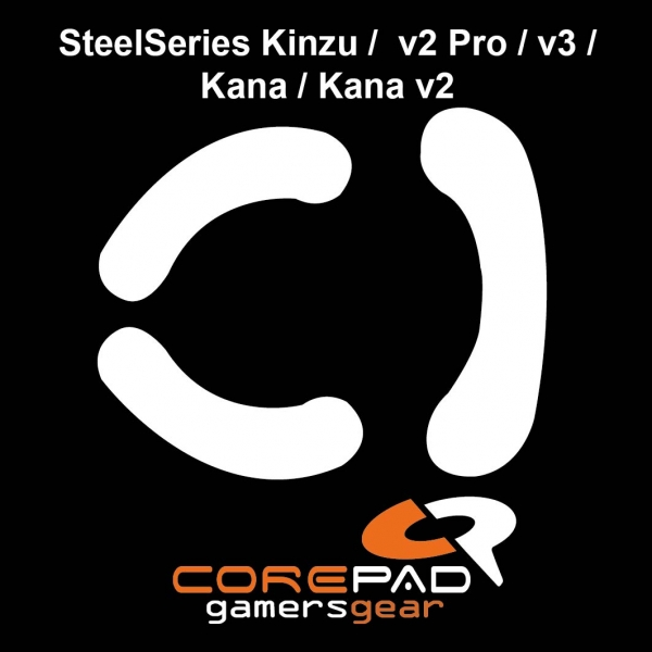 Corepad Skatez SteelSeries WoW Cataclysm MMO Replacement Teflon® mouse feet