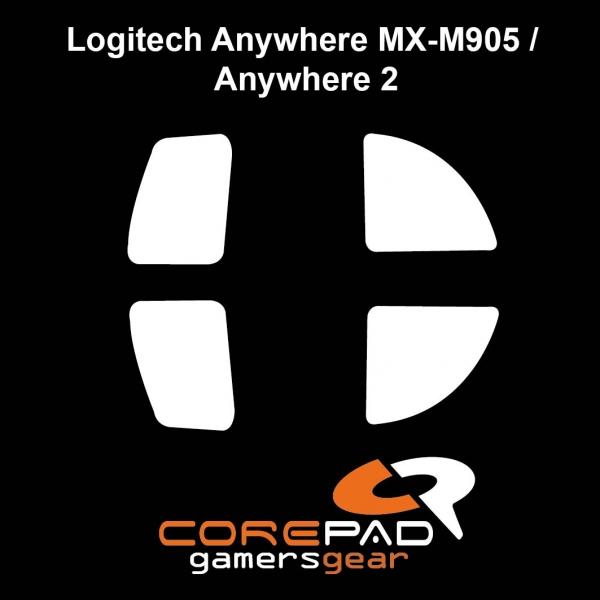 Corepad Skatez PRO  27 Mausfüße Logitech Anywhere MX-M905 / refresh / 2