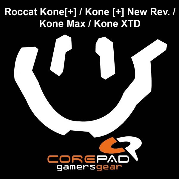Corepad Skatez PRO  44 Mausfüße Roccat Kone [+] / Kone [+] New Rev. / Kone Max / Kone XTD