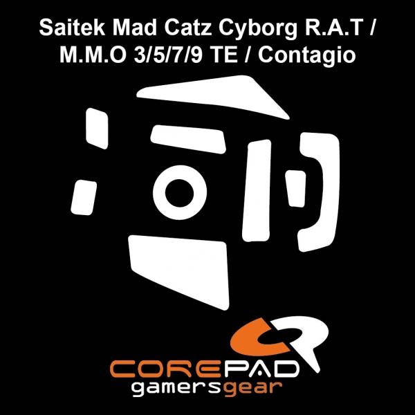 Corepad Skatez PRO  51 Mausfüße Saitek Mad Catz Cyborg R.A.T / M.M.O 3 / 5 / 7 / 9 TE / Contagio