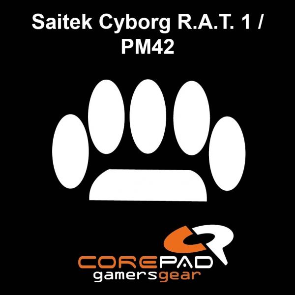 Corepad Skatez PRO  52 Mausfüße Saitek Cyborg R.A.T. 1 / PM42