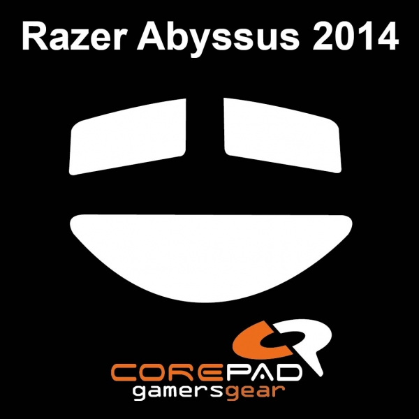 Corepad Skatez PRO  89 Mausfüße Razer Abyssus 2014