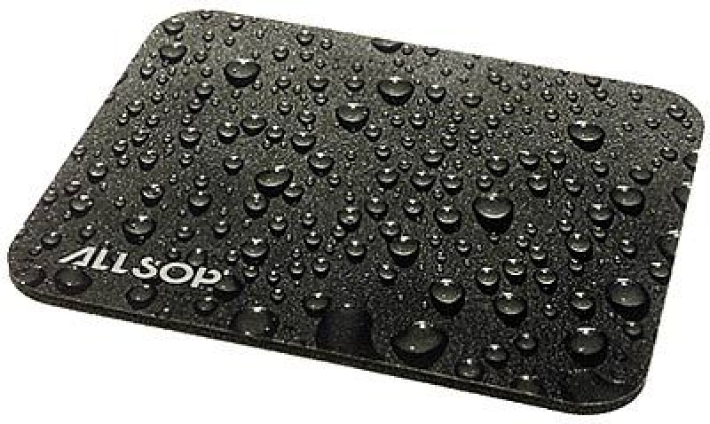 ALLSOP Raindrop MousePad [M] grau