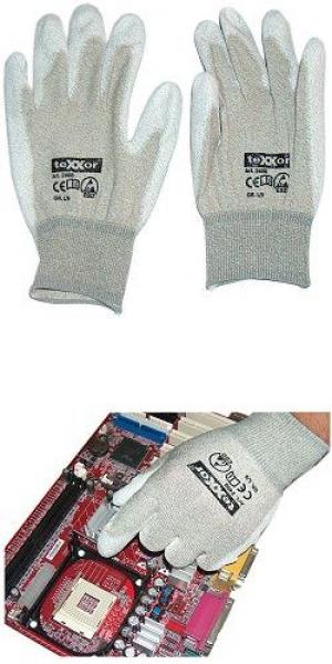 Antistatik-Handschuhe [Kupferfaser / PU-beschichtet / ...