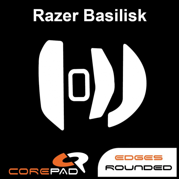 Corepad Skatez Razer Naga 2014 Left Handed Replacement mouse feet Hyperglides