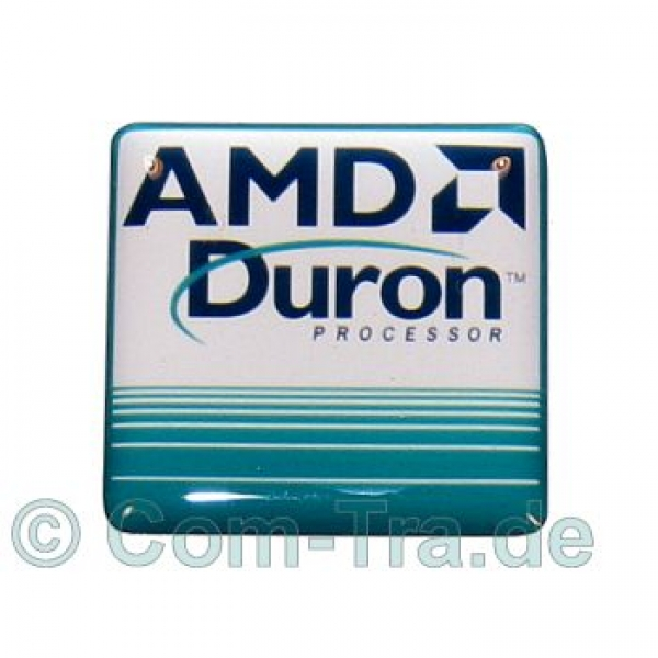 Case-Badge AMD Duron weiss