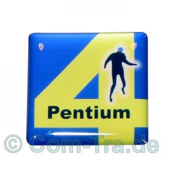 Case-Badge Intel Pentium 4 Blue Man