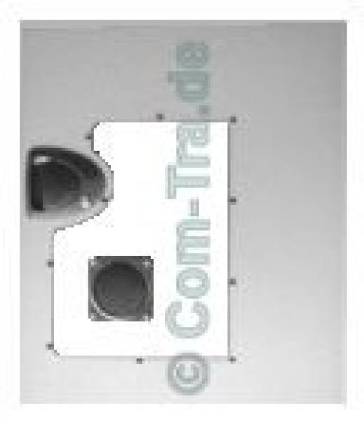 Chieftec CS 901 Seitenteil mit Window-Kit klein silber