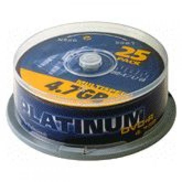 Platinum DVD+R 4,7GB 4,0fach 25er Spindel