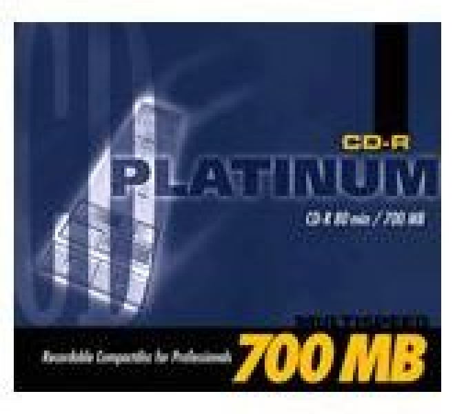 Platinum CD-R 700MB 80min 40fach 1er Jewelcase