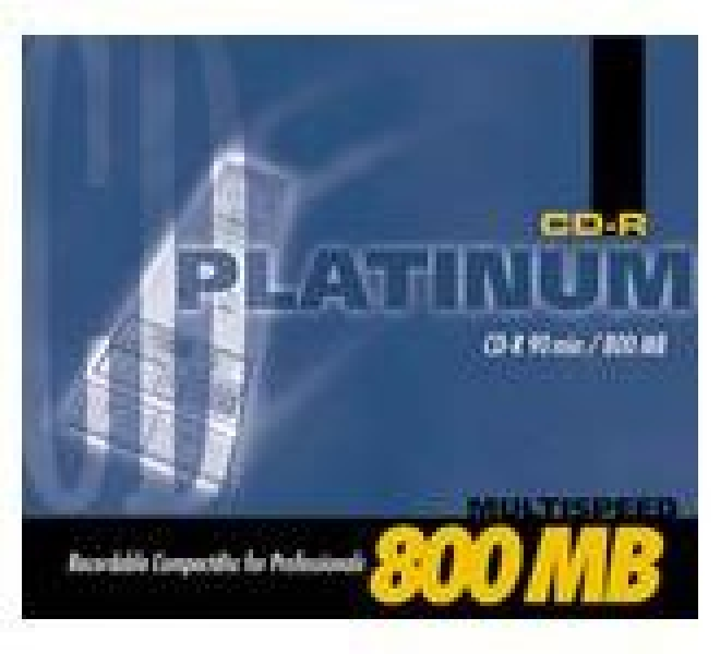 Platinum CD-R 800MB 90min 48fach 1er Jewelcase