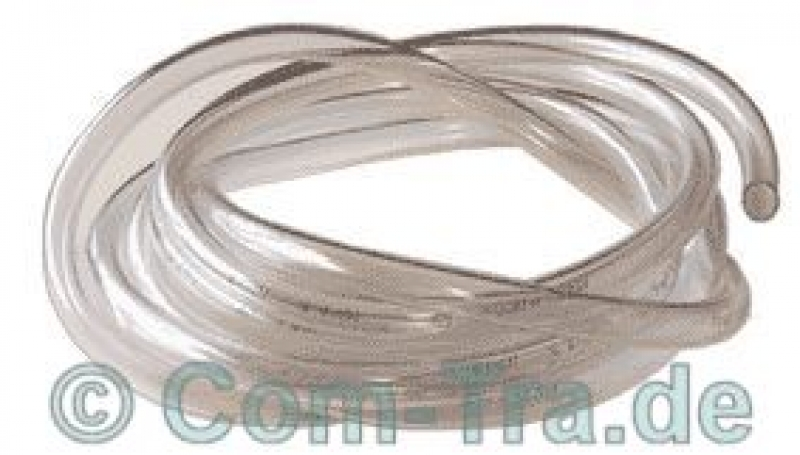 PVC-Schlauch 10,0x1,0x12,0mm [pro 50cm] transparent glasklar