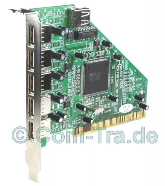 USB-2.0-Controller PCI-Karte 4xUSB Retail