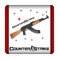 Case-Badge Counter Strike weiss