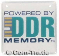 Case-Badge DDR-Memory weiss